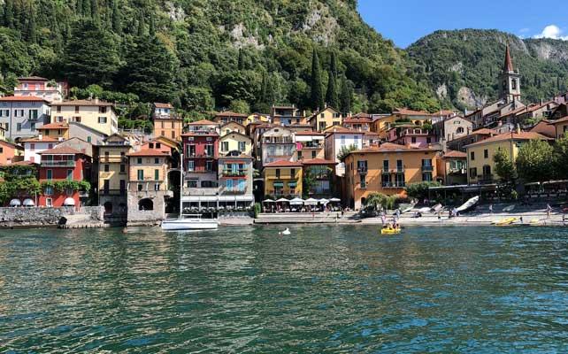 Campione d'Italia - Italija okružena Švajcarskom