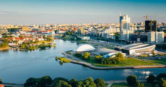 Minsk – sovjetska diktatura i moderni beloruski Kazačok