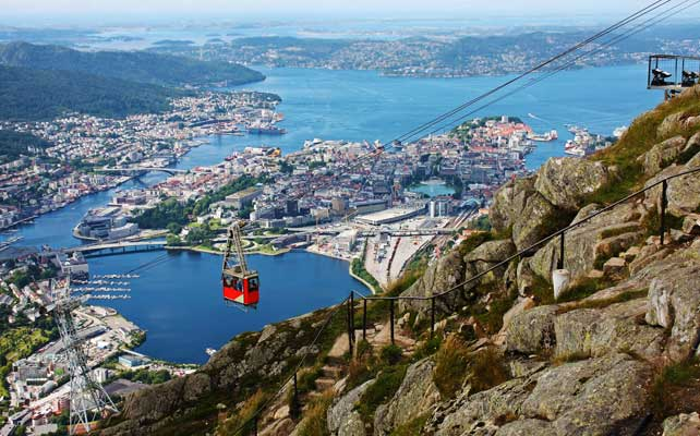 Bergen – norveški lepotan i kralj fjordova