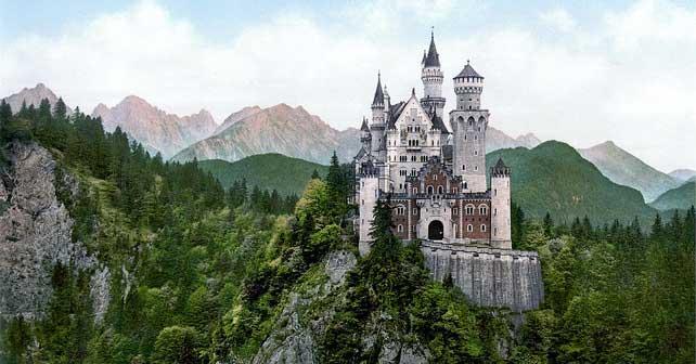 Romantični put, nežna strana Nemačke